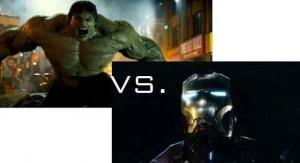 The Incredible Hulk vs. Iron Man