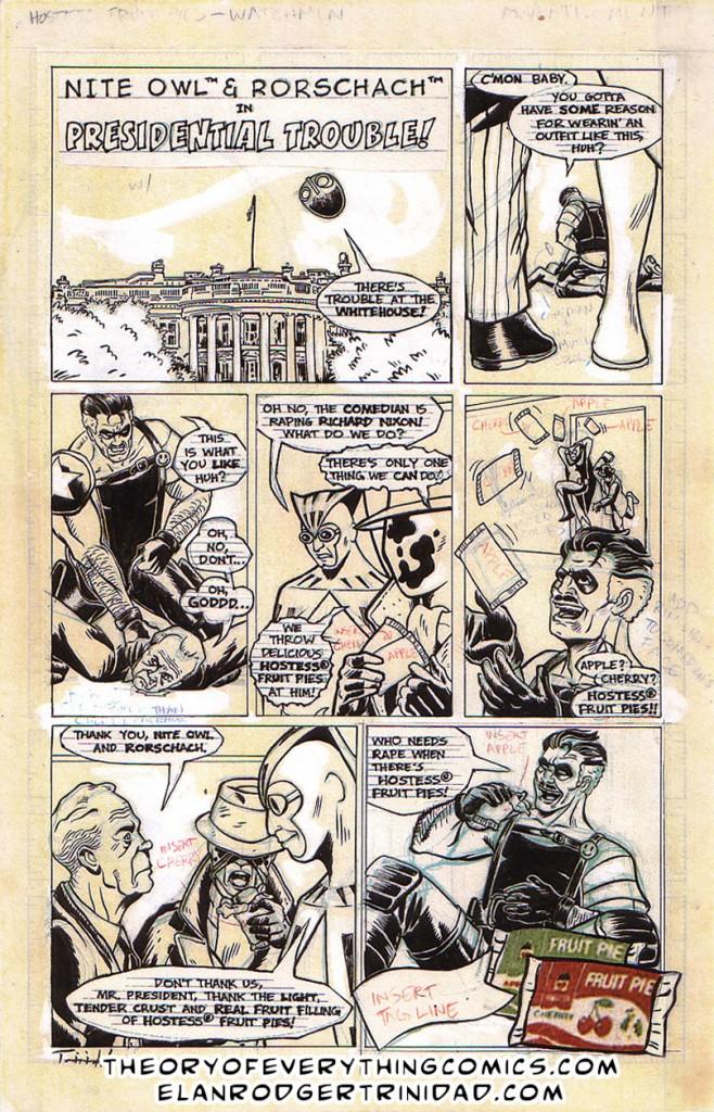 Watchmen Preisdential Trouble!