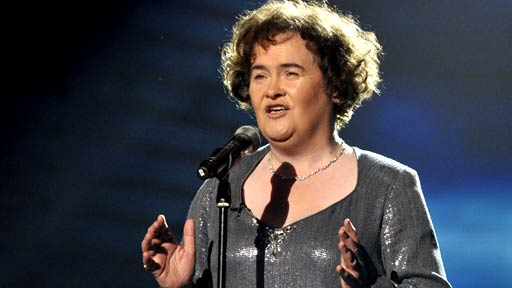 Susan Boyle in Finals
